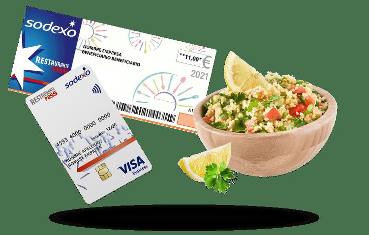 Cheque y Tarjeta Restaurante Pass